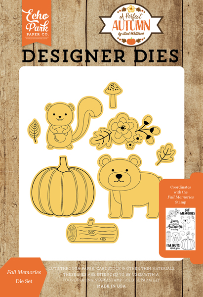 APA132043 Fall Memories <br>Die Set