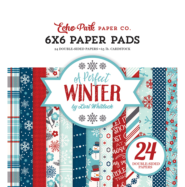APW136023 A Perfect Winter 6x6 Paper Pad
