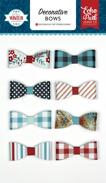 APW136063 A Perfect Winter Decorative Bows