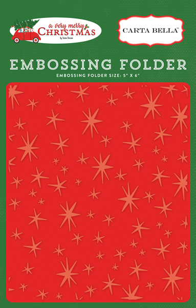 CBVMC72031 Embossing Folder - Christmas Magic