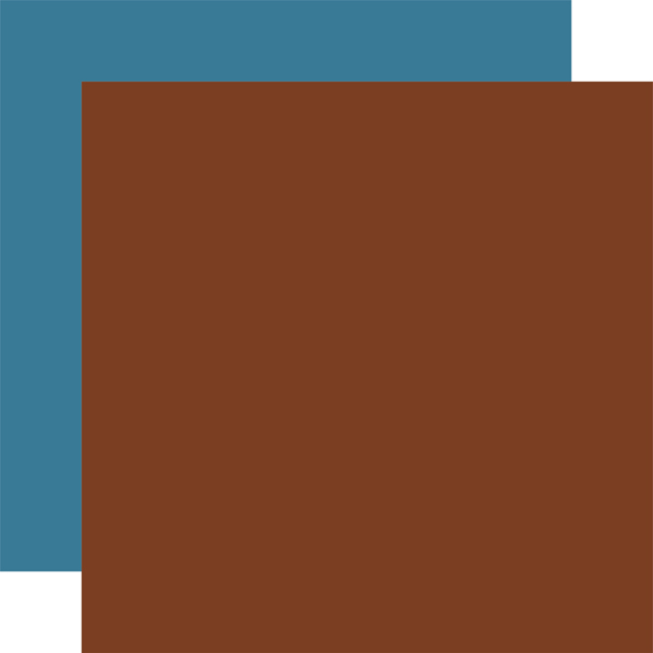 AA163019 Brown Blue Coordinating Solid