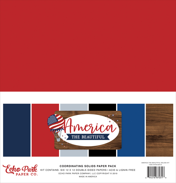 ATB192015 America The Beautiful Solids Kit
