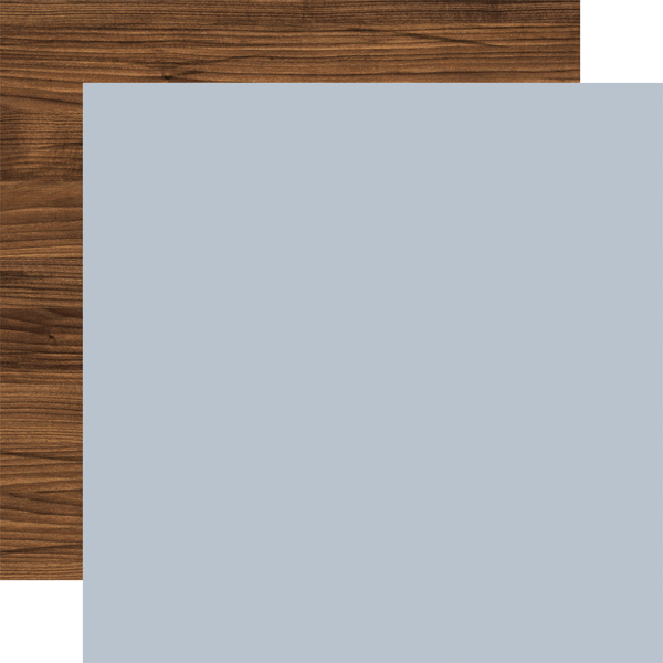 ATB192018 Dusty Blue Woodgrain Coordinating Solid