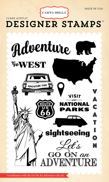CBAW67043 Go On An Adventure Stamp