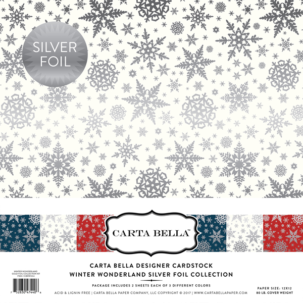 CBFWW004 Winter Wonderland Silver Foil Collection Kit