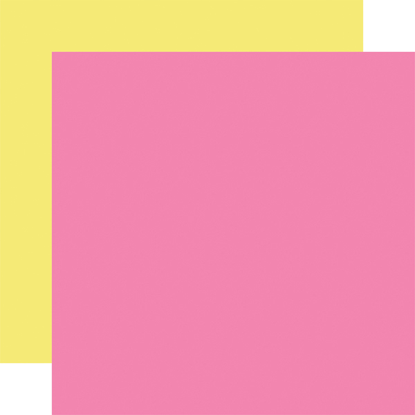 BS182017 Pink Yellow Coordinating Solid