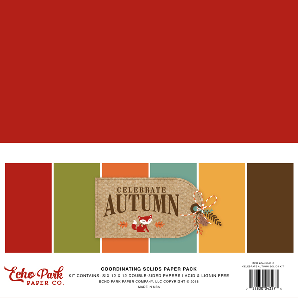 CAU158015 Celebrate Autumn Solids Kit