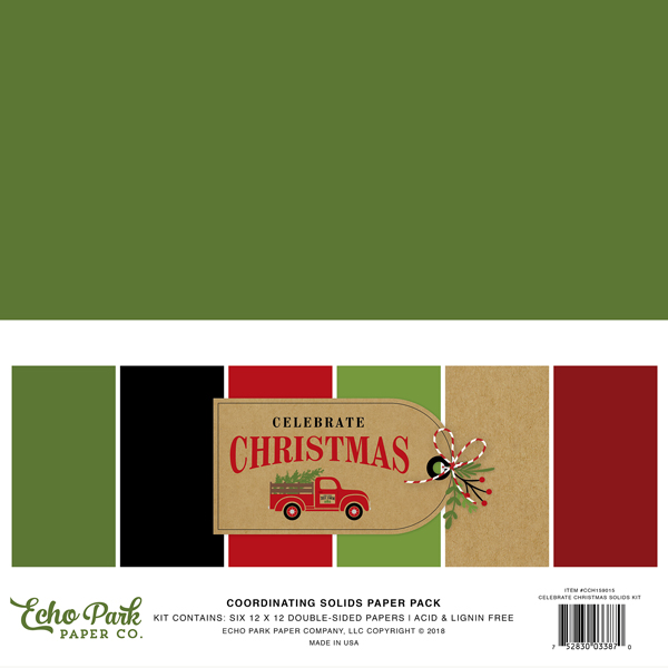 CCH159015 Celebrate Christmas Solids Kit