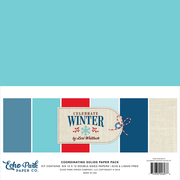 CW162015 Celebrate Winter Solids Kit