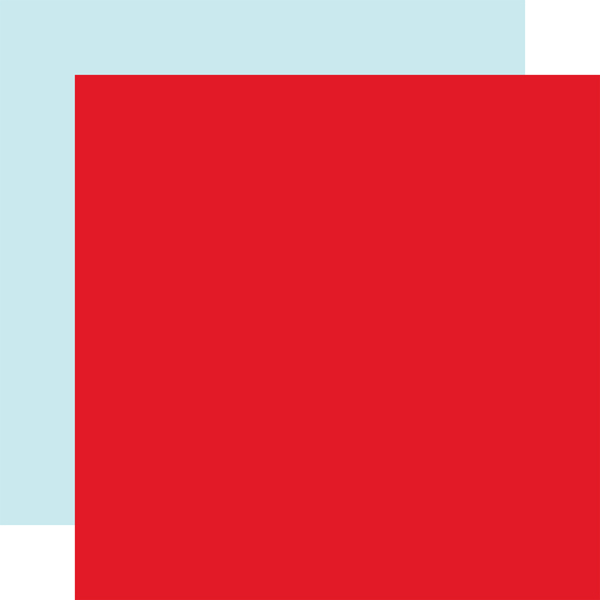 CW162019 Red Ice Blue Coordinating Solid