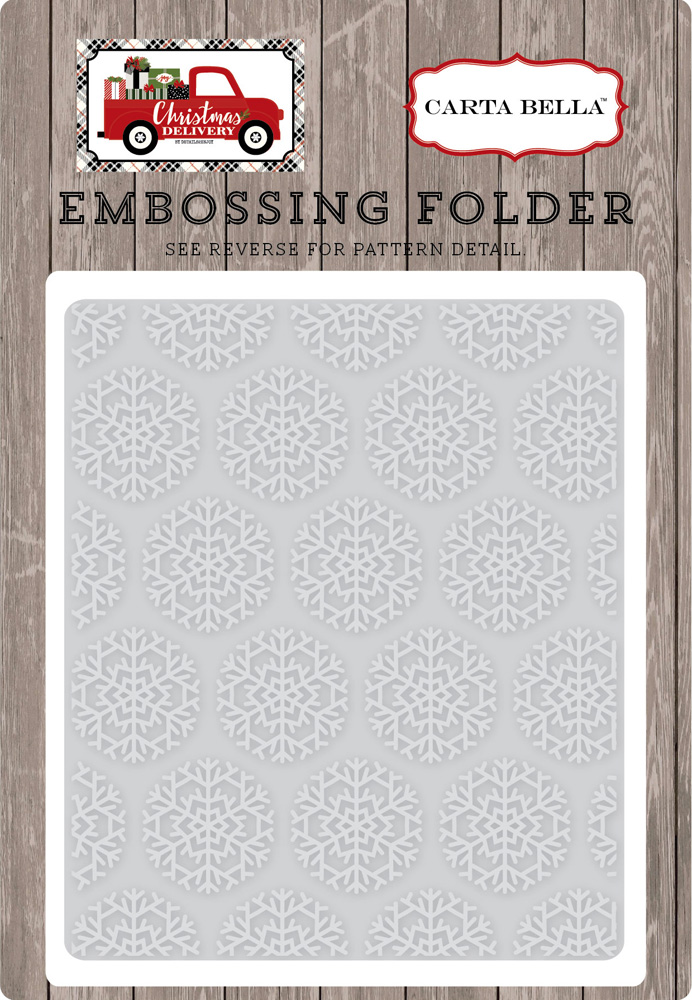 CBCD58032 Embossing Folder -Snowflake #1