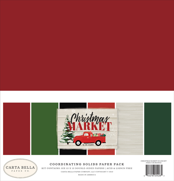CBCM106015 Christmas Market Solids Kit