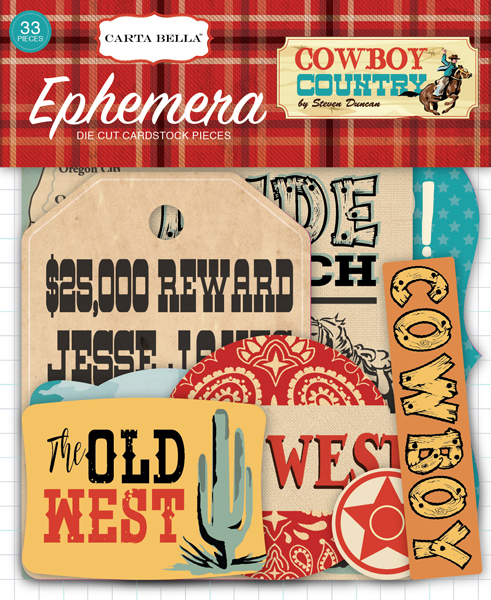 CBCC77024 Cowboy Country Ephemera