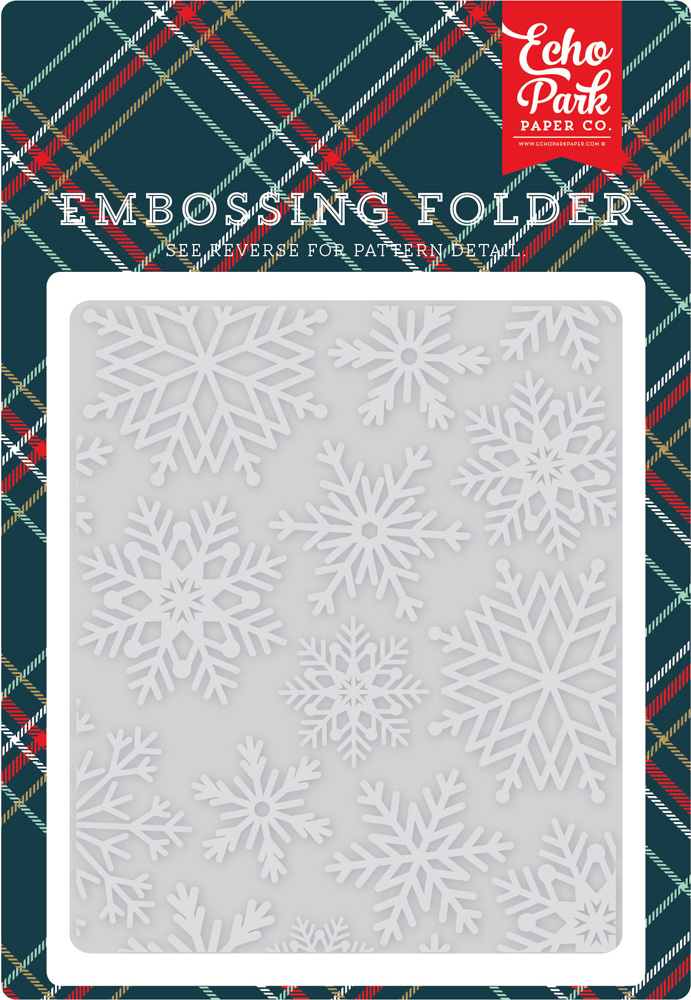 DH116031 Embossing Folder - Snowflake #3
