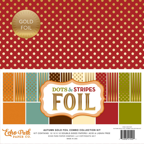 DSF17037 Autumn Gold Foil Combo Collection Kit