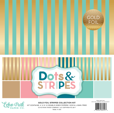 dots stripes gold stripes