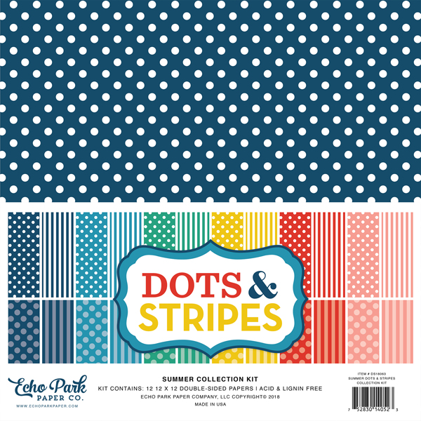 Summer Dots & Stripes