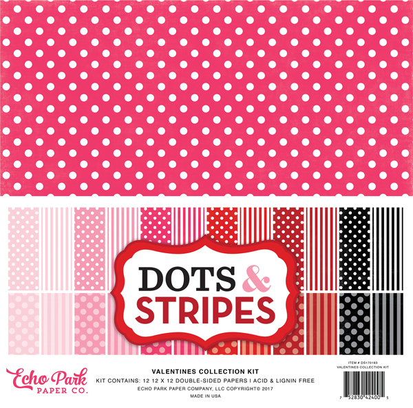 Valentines Dots & Stripes