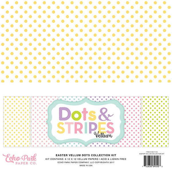 Vellum Dots & Stripes