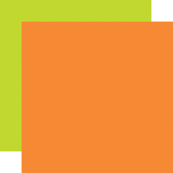 EW174019 Orange Green Coordinating Solid