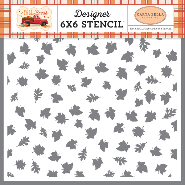 CBFA88033 Autumn Leaves Stencil