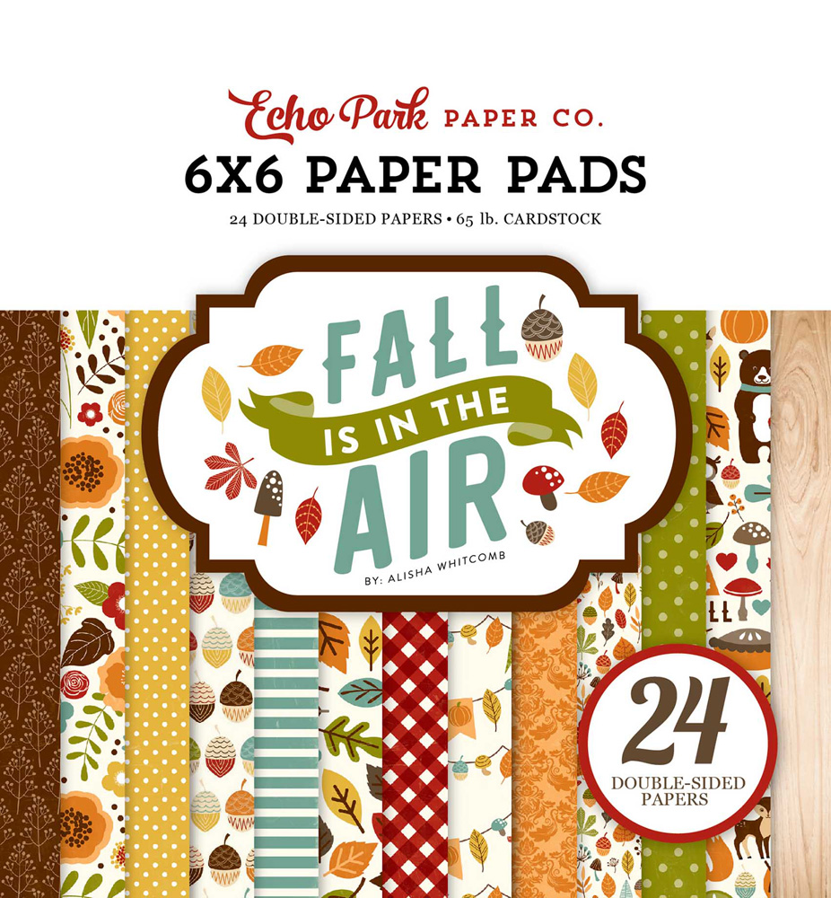 FIA112023 Fall is in the Air Paper Pad Cover