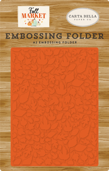 CBFAM105031 Welcome Fall Embossing Folder