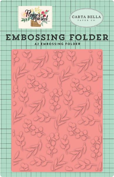 CBMK96031 Bloom and Grow Embossing Folder