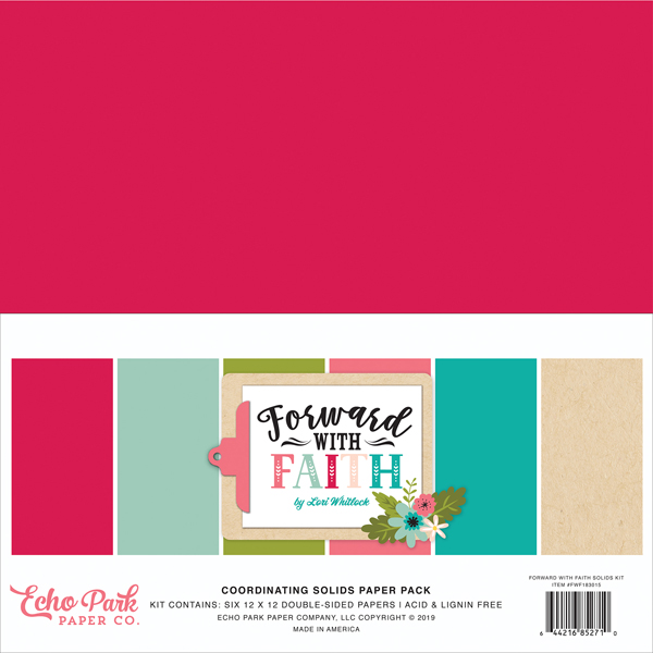 FWF183015 Forward With Faith Solids Kit