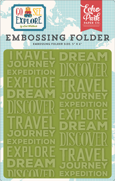 GSE127032 Embossing Folder - Explore