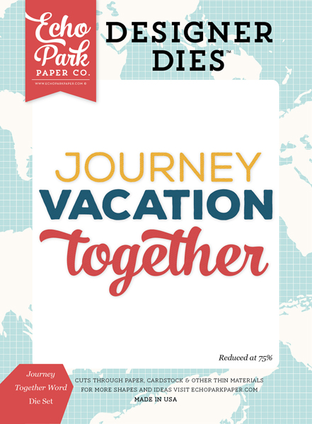 GSE127040 Journey Together Word <br>Die Set