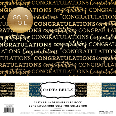 CBCO004 Congratulations Foil Collection Kit