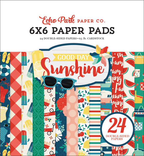 GDS149023 Good Day Sunshine 6x6 Paper Pad Cover