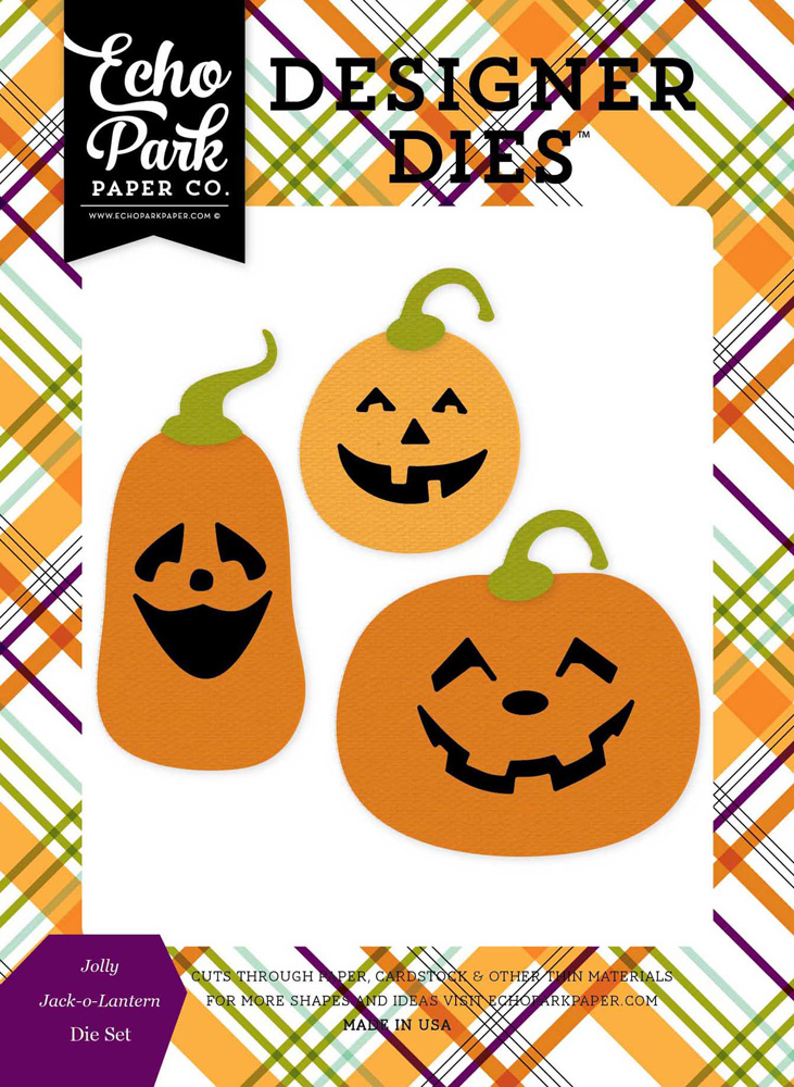 HA111042 Jolly Jack-O-Lanterns <br>Die Set