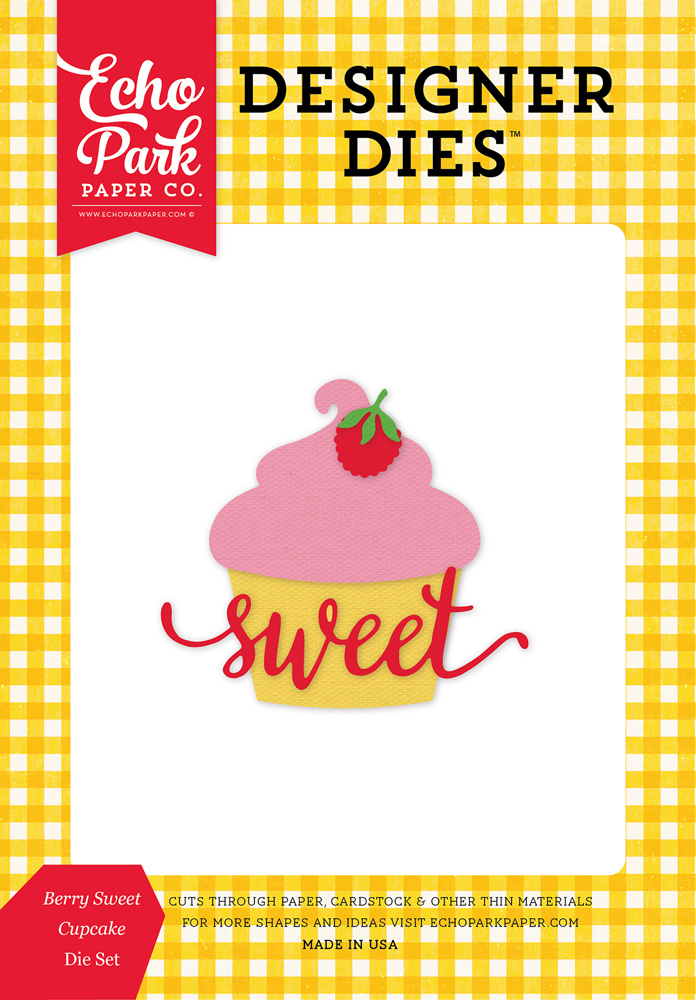 HIH118042 Berry Sweet Cupcake <br>Die Set Packaging