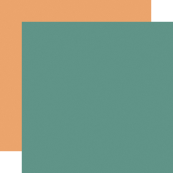 CBHAL104018 Teal / Lt_Orange Coordinating Solid