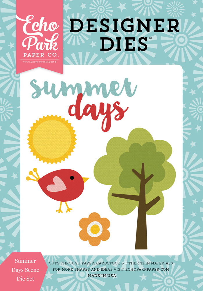 HS105043 Summer Days Scene <br>Die Set