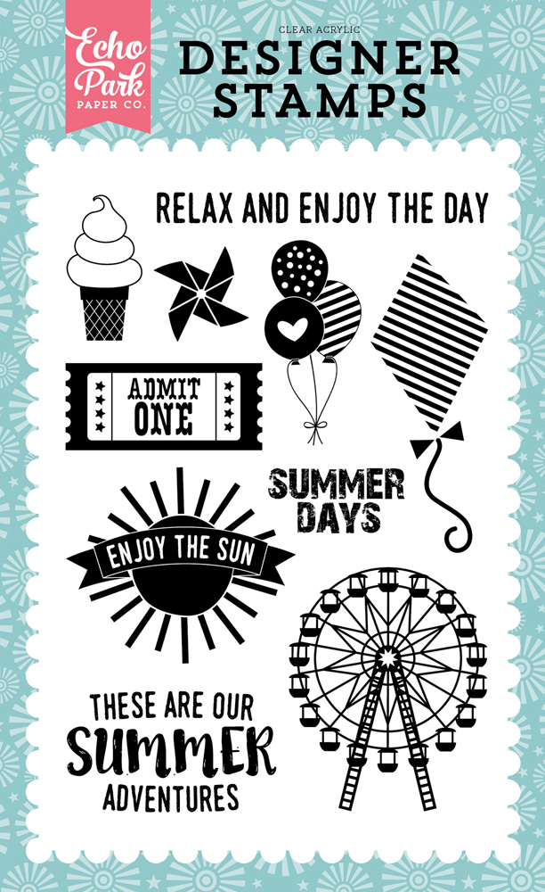 HS105044 Summer Adventures Stamp