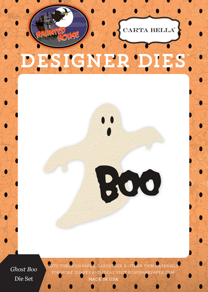 CBHH71043 Ghost Boo <br>Die Set