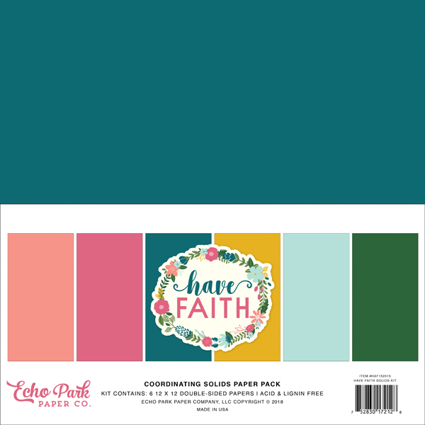 HAF152015 Have Faith Solids Kit