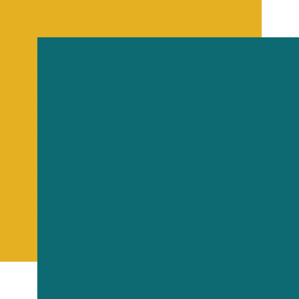 HAF152018 Teal Yellow Coordinating Solid