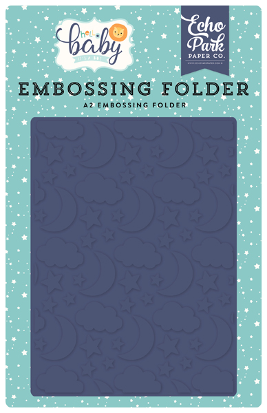 BB172032 Good Night Embossing Folder