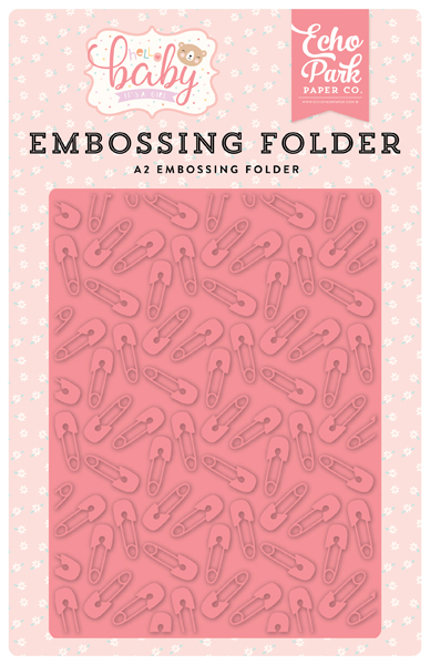 BG171032 Baby Pin Embossing Folder