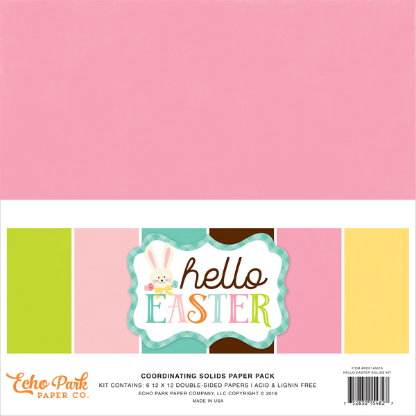 HEE145015 Hello Easter Solids Kit