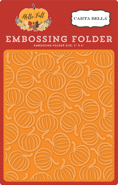 CBHF70032 Embossing Folder - Pumpkin Patch