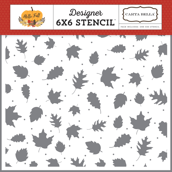 CBHF70033 Fall Leaves Stencil