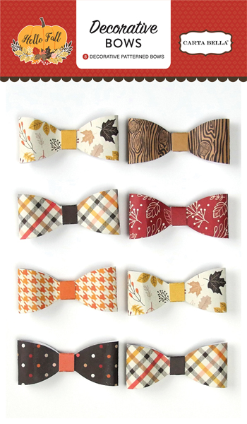 CBHF70063 Hello Fall Decorative Bows