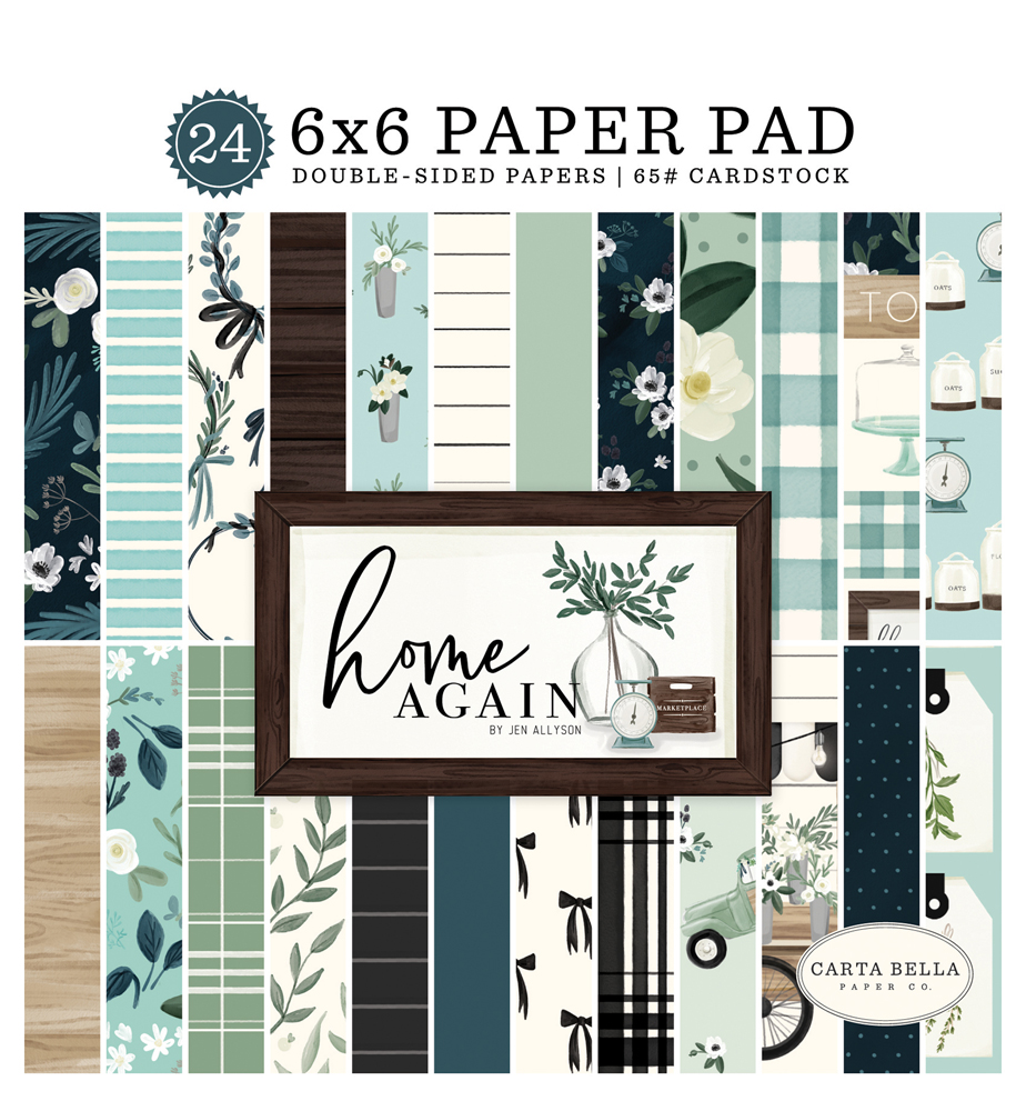 Decorative Tape Carta Bella Paper Farmhouse Floral Home Again Collection