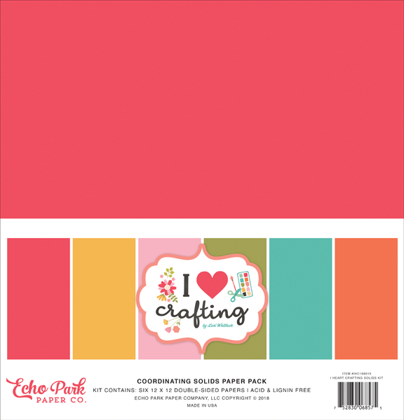 IHC169015 I Heart Crafting Solids Kit