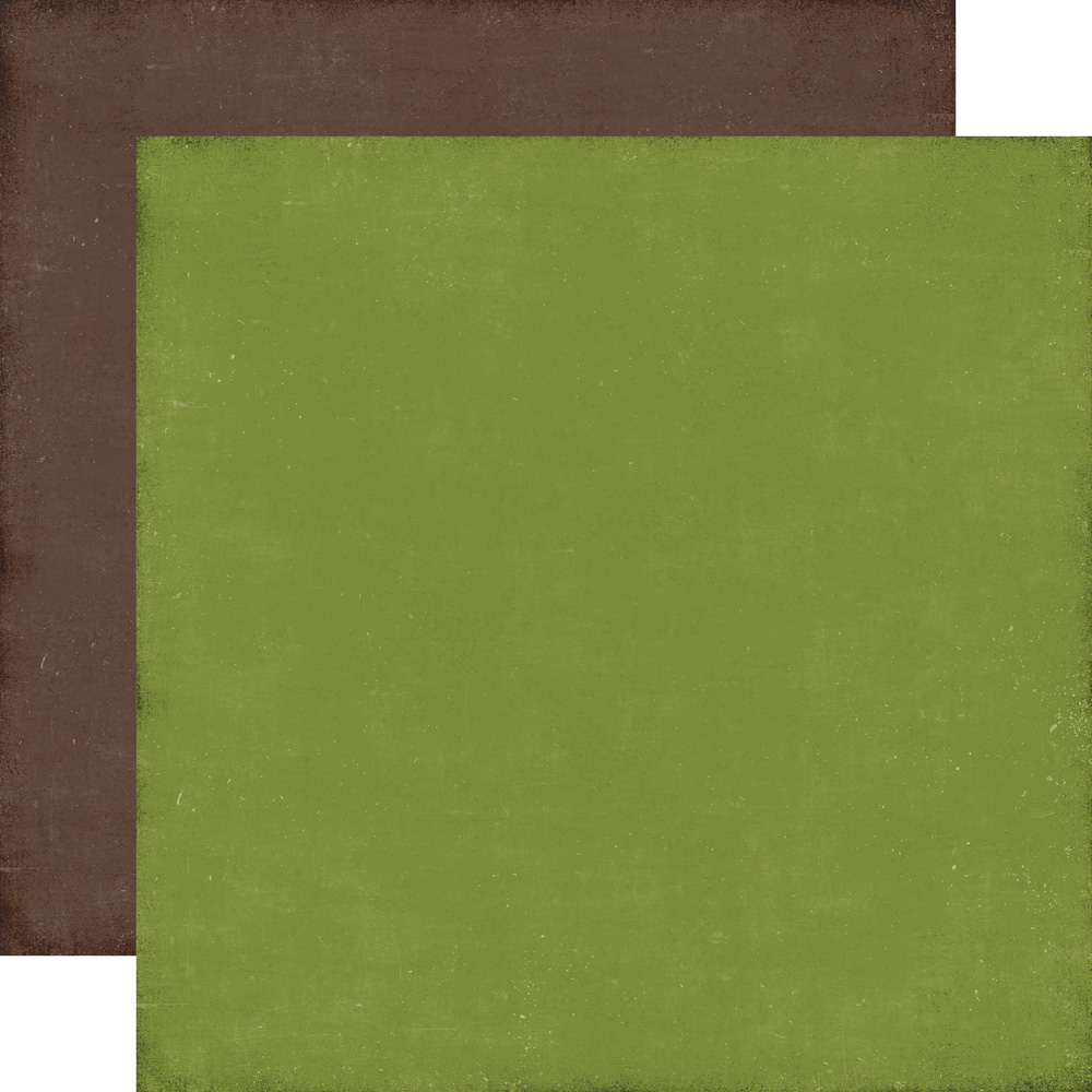 ILC114018 Green / Brown - Coordinating Solid